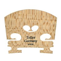 Teller*** Steg, roh, Violin 3/4, 38 mm