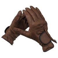 Élégant gant de jardinage en cuir de mouton fin, taille 8
