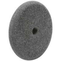 Felt Buffing Wheel, Mixed Wool Felt, Rounded off