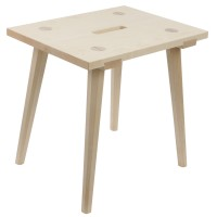 Traditional Stool with Sophisticated Joints