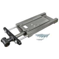 Classic flat-front vice mechanism