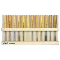 Pfeil Compact Carving Tools, 12-Piece Set
