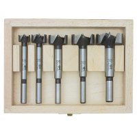 Fisch Wave-Cutter Forstner Bit Set, 5-piece set