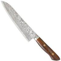 Katsuhiro Hocho, manche bois de fer du désert, Gyuto, couteau viande/poisson
