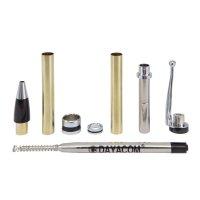 Kugelschreiber-Bausatz Phoenix, silber, 5 Stück
