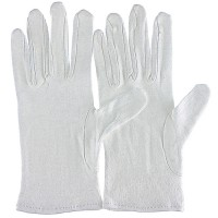 Cotton Gloves, Extra Thin, 12-Piece Set, Size L