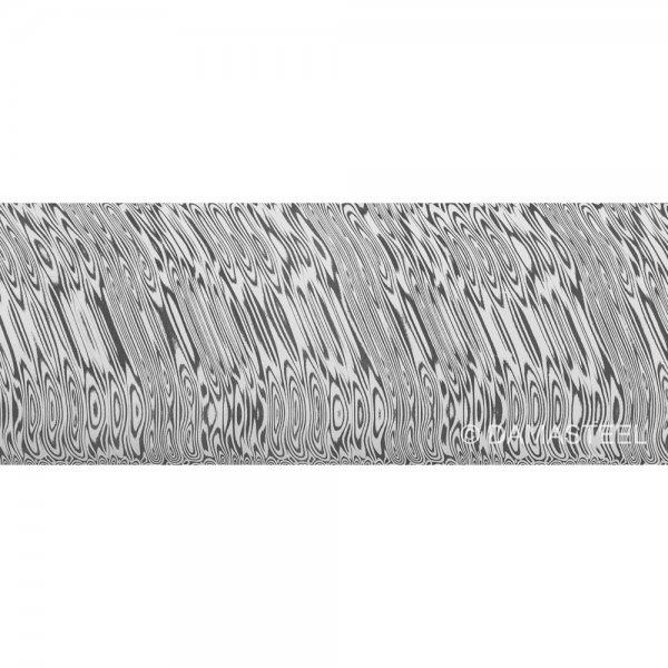 Damasteel DS93X Heimskringla Damascus Steel, 51 x 3.2 x 250 mm