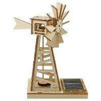 Moulin à vent, énergie solaire