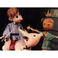 Marionettenbau - Konstruktion einer Marionette und Spielkreuz