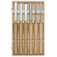 Hattori HSS Turning Tools, Maxi, 6-Piece Set