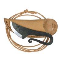 Knife Pendant with Leather Sheath