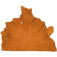 Gobi Goat Leather, Light Brown, 8-9 sq. ft.