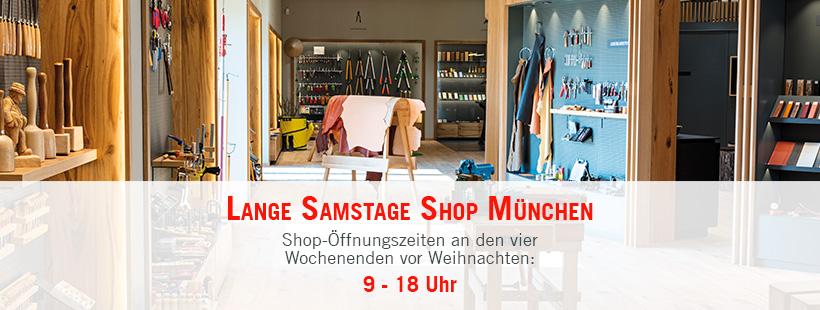 Lange Samstage Shop München