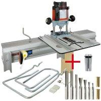 SET: WoodRat WR900, Cutter Set 2, PlungeBar C/F + MAFELL Hand Router LO 65 Ec