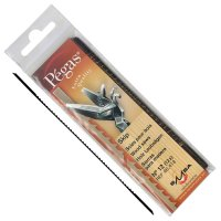 Brzeszczot do piły włosowej Pégas MGT, szerokość brzeszczotu 1,55 mm, 12 sztuk