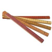 Wood Stock Folding Rule, Brazilian Woods