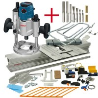 SET: WoodRat WR900, Cutter Set 2, PlungeBar C/F, Bosch Router GOF 1600 CE