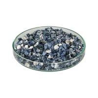 Granulats de pierres précieuses pour la marqueterie, 200 g, sodalite