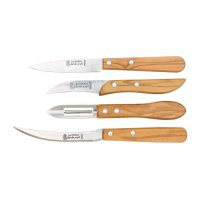 Kitchen Knives, 4-Piece Set