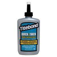 Titebond No-Run, No-Drip Wood Glue, 237 g