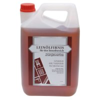 Boiled Linseed Oil for Interior Use, 5 l