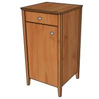 Möbelbau mit Holzwerkstoffplatten und moderner Beschlagtechnik