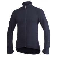 Woolpower Cardigan, Dark Navy, 400 g/m², Size S