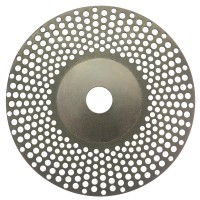 Diamond look-through grinding wheel D126