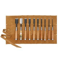 Ciseaux à bois Oire Nomi, jeu de 10 pièces