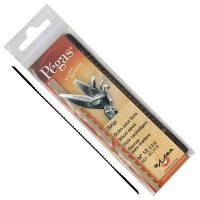 Lames de scie à chantourner Pégas Skip, largeur de lame 1,55 mm, 12 pièces