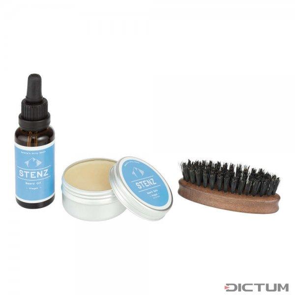 Set per la cura della barba Stenz, 3 pezzi