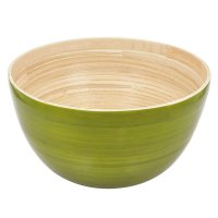 Bamboo Bowl Large, Green