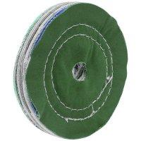 Disque de polissage, qualité tissu, couleur