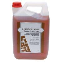 Vernis à l'huile de lin pour l'extérieur, 5 l