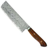 Katsuhiro Hocho, manche en bois de fer du désert, Usuba, couteau à légumes