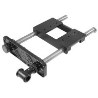 Compact Double-Spindle Face Vice, Heavy Cast Version