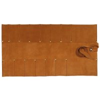 Leather Tool Roll, 12 Pockets