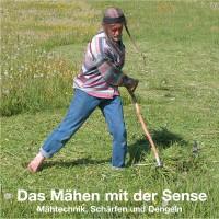 Das Mähen mit der Sense, Deutsch