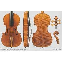 Póster, violín, Antonio Stradivari, »Messiah« 1716