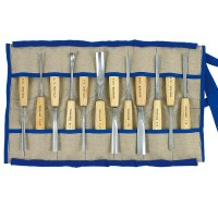Pfeil Carver's Set with Ash Handles, 12-Piece Set
