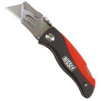 Bessey Folding Knife, Plastic Handle