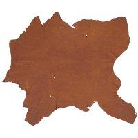 Elk Leather, Medium Brown, 11-12 sq. ft.