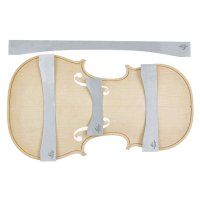 Herdim Arching Templates, 4-Piece Set, Top, Violin, Guarneri Kreissler 1734