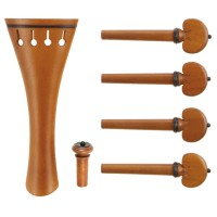 c:dix Classic Set, Boxwood, Black Trim, 6-Piece Set, Violin 4/4, Medium
