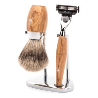 Mühle Shaving Set »Kosmo«, 3-Piece Set, Olive