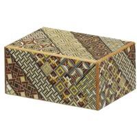 "Japanese Puzzle Box ""Himitsu Bako"", 4-sun*"