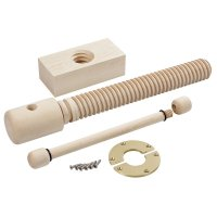 Tornillo de banco Lake Erie Toolworks Wood Vice Screw, premium