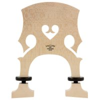 Teller*** Bridge French, Unfitted, Ebony Screws, Bass 3/4 4-String, 155 mm
