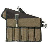Baumwollrolltasche, 10 Fächer