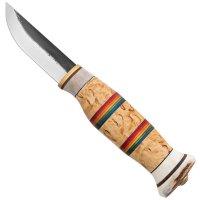 Wood Jewel Hunting and Outdoor Knife Rainbow